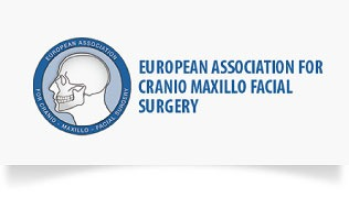 Logo der European Ass. for cranio maxillo facial surgery