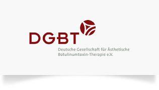 Logo der DGBT Deutsche Gesellschaft für Ästhetische Botulinum-Therapie e. V.