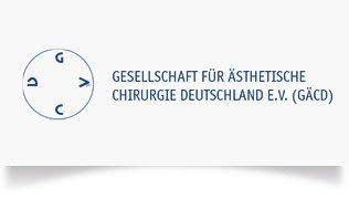 Logo der Gesellschaft Ästhetische Chirurgie Deutschland GÄCD