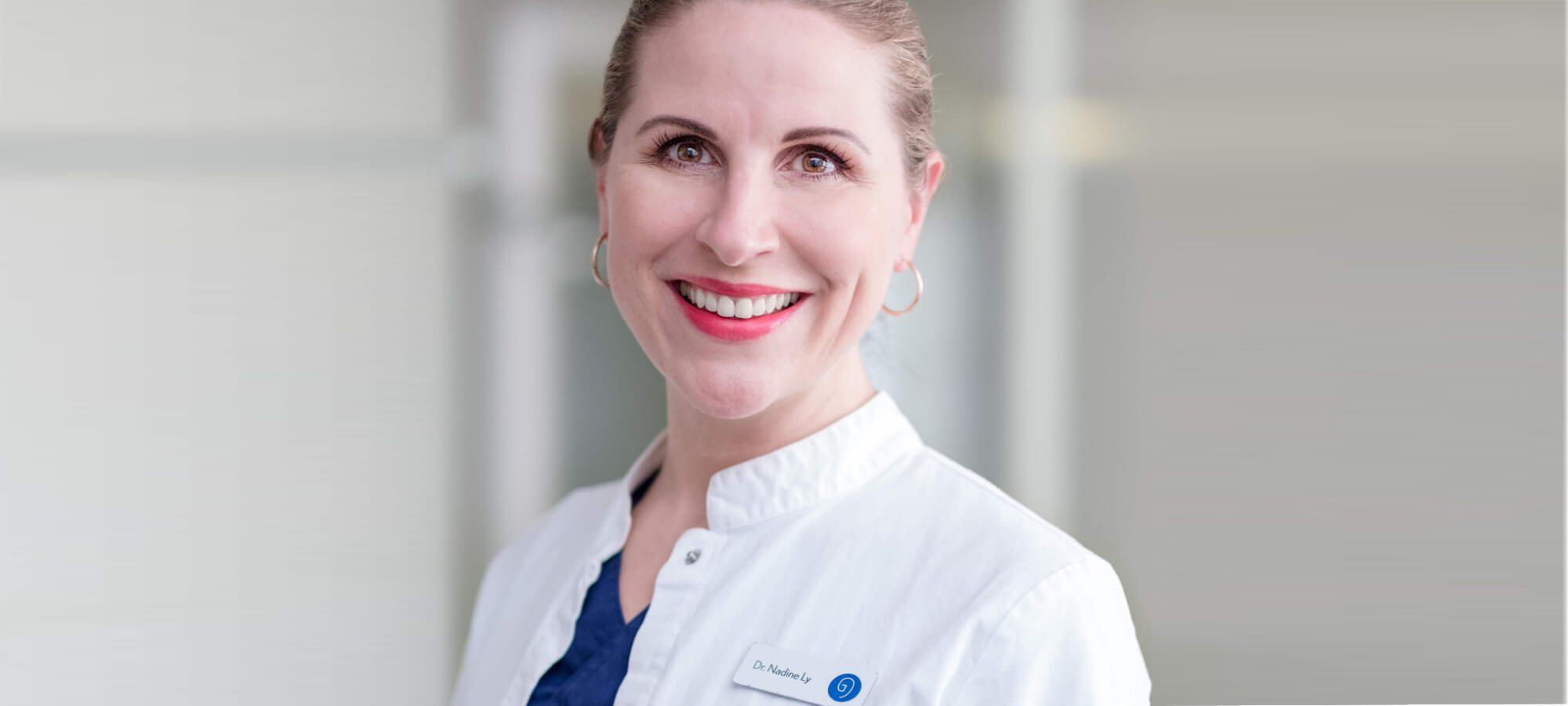 Zahnärztin Dr. med. Nadine Ly in Frankfurt   groisman & laube